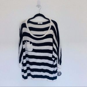 LF Milau oversized striped sweater